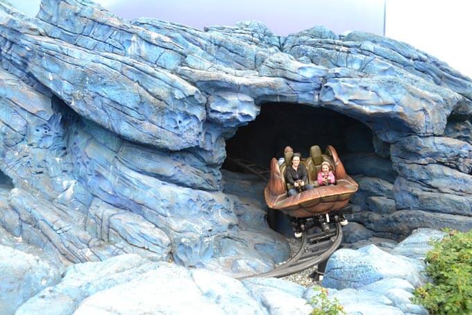 Atracccion Crush Coaster Disney Studios PAris