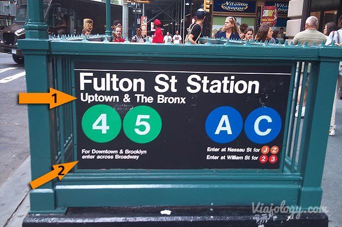 Como usar el Metro de Nueva York