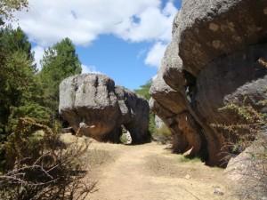 Formaciones rocosas de la Ciudad Encantada de Cuenca