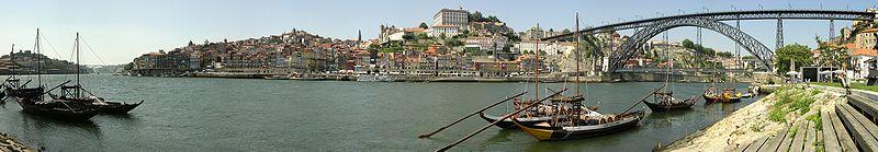Panoramica de Oporto