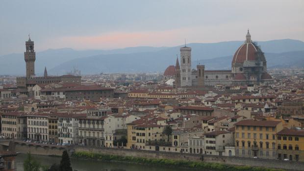 Florencia desde el Piazzale Michelangelo
