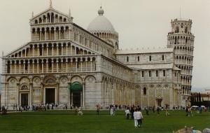 Catedral y torre de Pisa