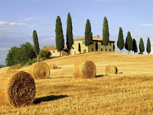 Paisaje de la Toscana
