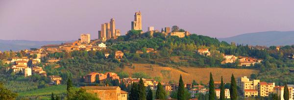 Vista de San Gimignano