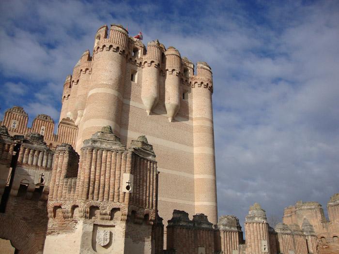 Torre del homenaje del castillo de Coca