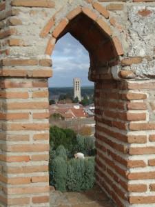 Vista de la Torre de San Nicolás desde el castillo