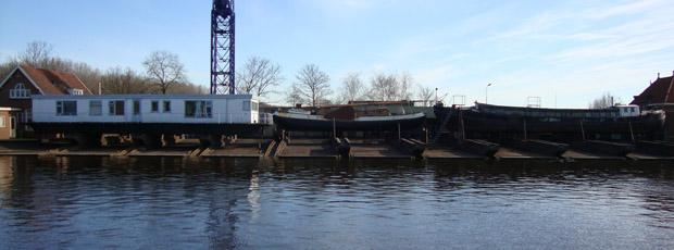 Pequeños astilleros en Holanda