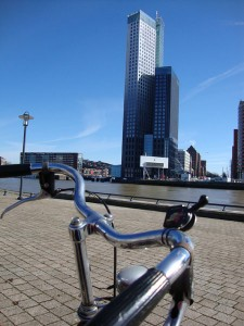 Bicicleta en Rotterdam