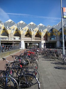 Casas Cubo de Rotterdam