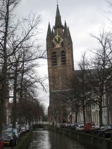 Torre inclinada de Delft