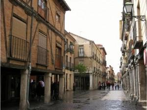 Calle Mayor de Alcala de Henares