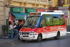 Minibus a La Alhambra