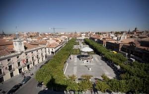 Vista de la Plaza Cervantes