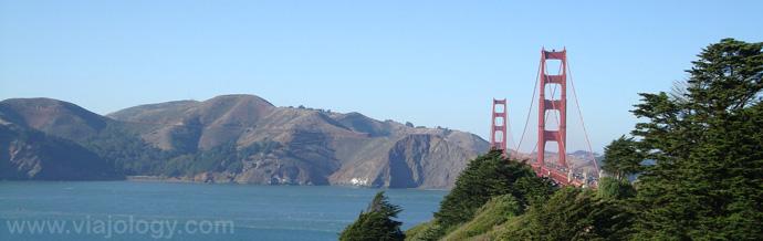 Puente Golden Gate desde Presidio