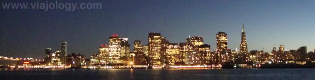 San Francisco desde el ferry de Sausalito