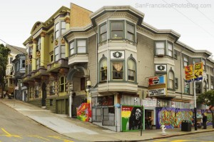 Haight-Ashbury barrio hippie