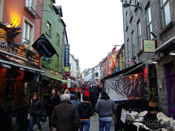 Calles medievales de Galway
