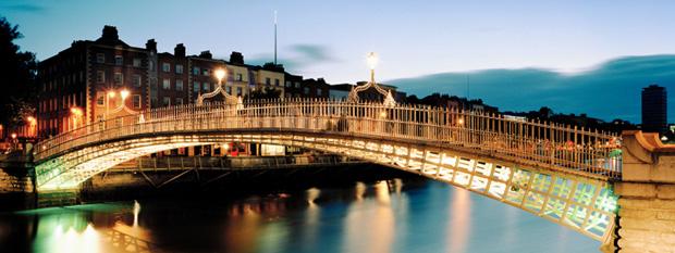 Puente Ha'Penny en Dublin