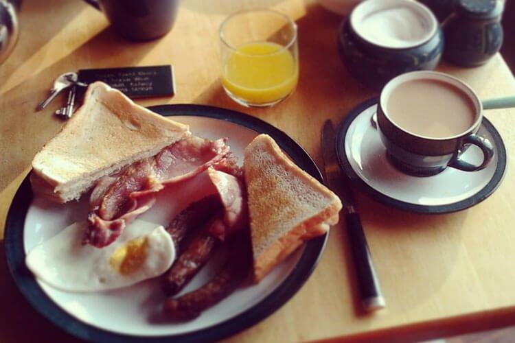 Irish Breakfast en ruta en coche por Irlanda