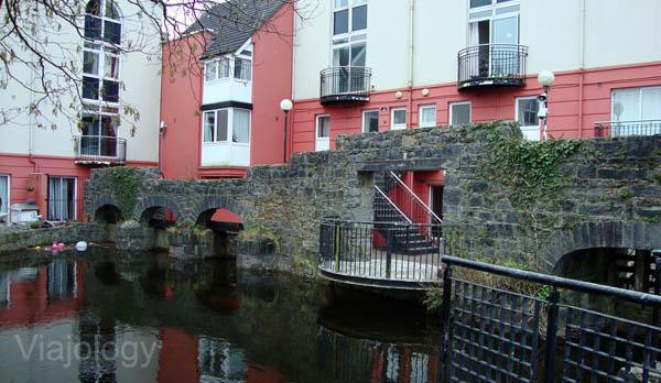 Restos de muralla en Galway