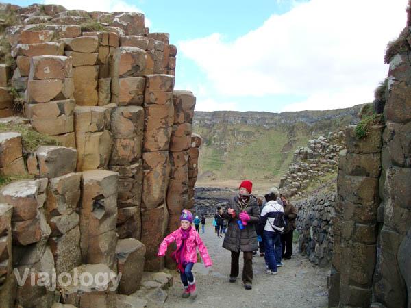 Columnas rocosas Calzada del Gigante