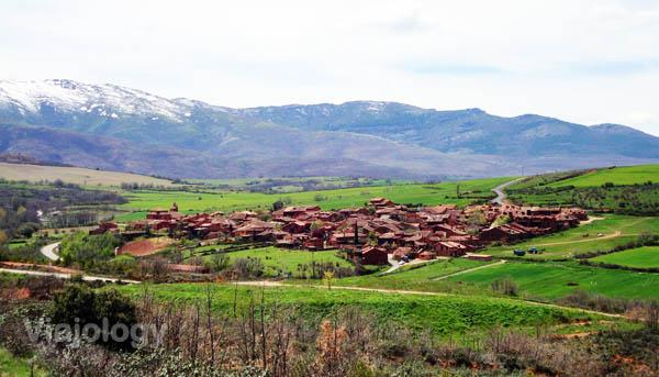 Vista general de la Sierra de Ayllón