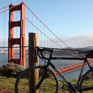 Bicleta Gonden Gate Viajology