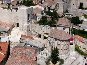 Vista aerea del Abside de Santiago
