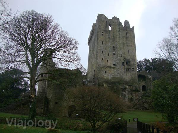 Vista del castillo de Blarney