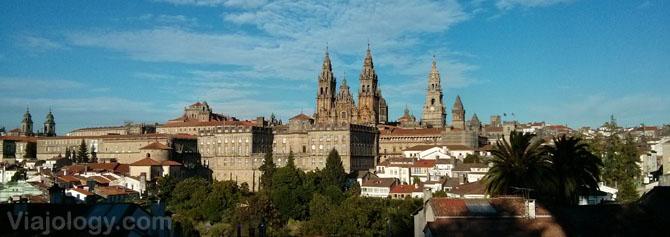 Panorámica Santiago de Compostela