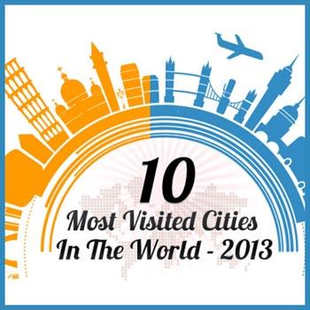 Viajology principal ciudades mas visitadas 2013