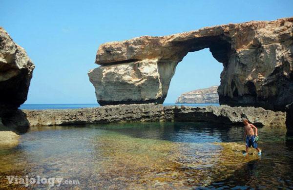 Azure Window en isla Gozo