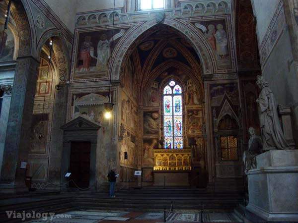 Frescos de Giotto en Santa Croce