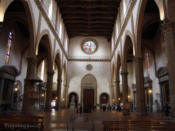 Interior Santa Croce
