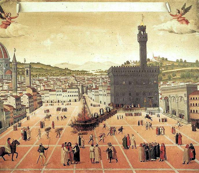 Muerte de Savonarola