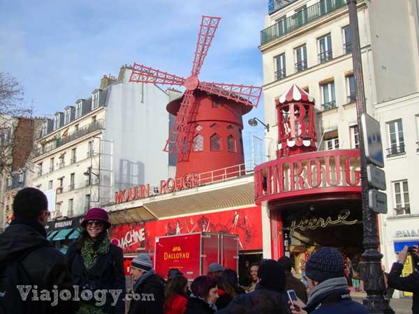 Moulin Rouge día