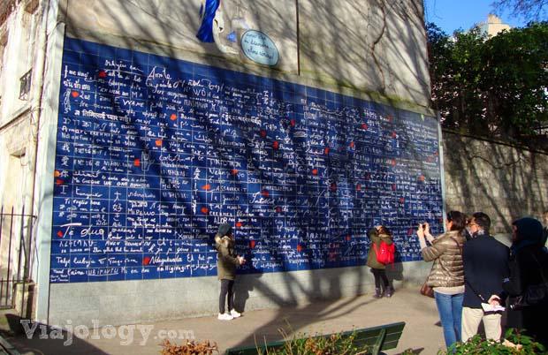 Mural Te quiero Paris