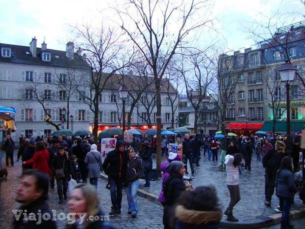 Place du Tertre o Plaza de los Pintores