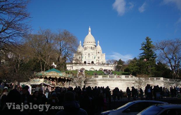 Basilica Sacre Coeur Montmatre paris