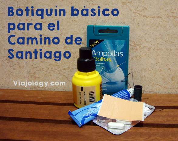 Botiquín Camino de Santiago