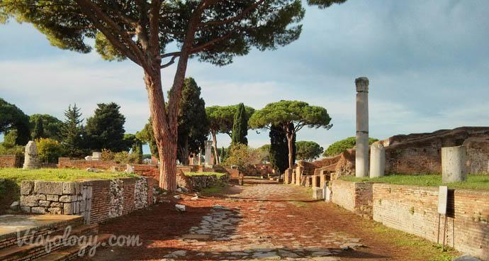 Ostia Antica cerca de Roma