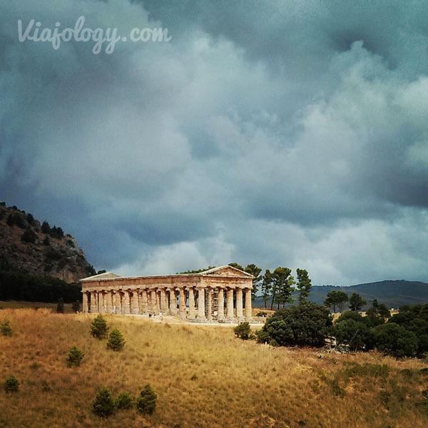 Templo de Segesta en la ruta por Sicilia