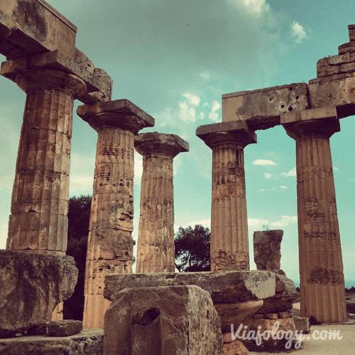 Templo en Selinunte
