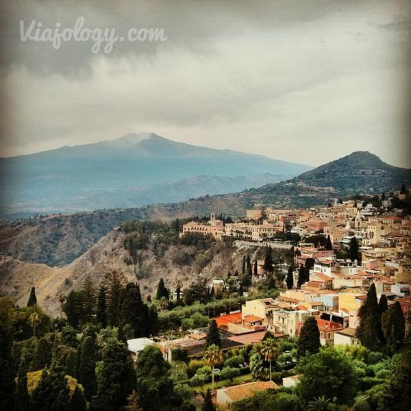 Taormina y el Etna