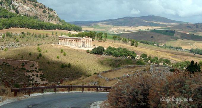 Vistas del Templo de Segesta