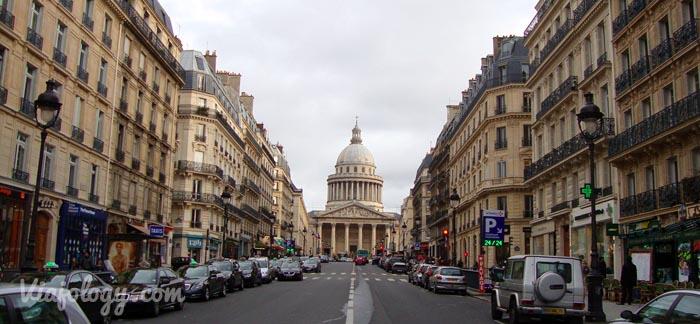 Panteon de Paris desde Jardines Luxemburgo