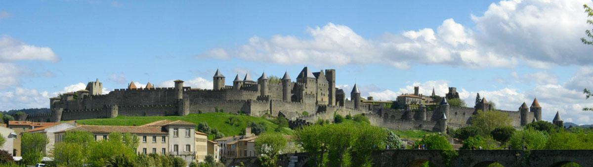 Panorámica de Carcassonne