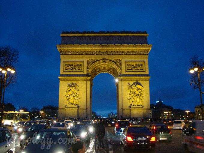 Arco del Triunfo de París