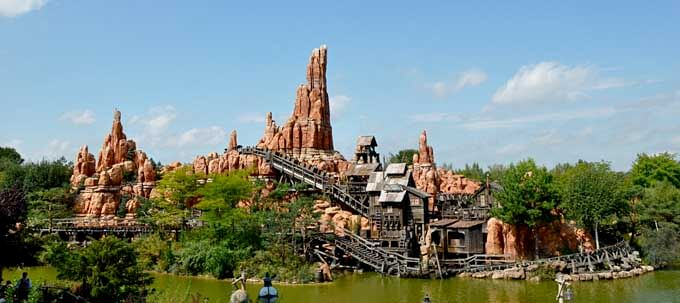 Big Thunder Mountain en Disneyland París