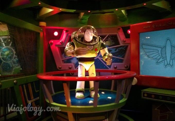 Buzz Lightyear laser blast mejores atracciones de Disneyland París
